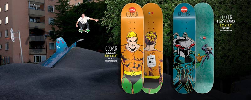 Almost Skateboards 2014 Cooper