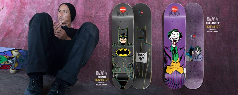 Almost Skateboards 2014 DC collab Daewon