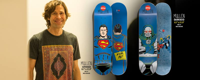 Almost Skateboards 2014 DC collab Mullen