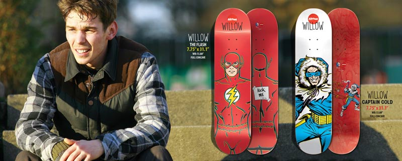 Almost Skateboards 2014 DC collab Willow