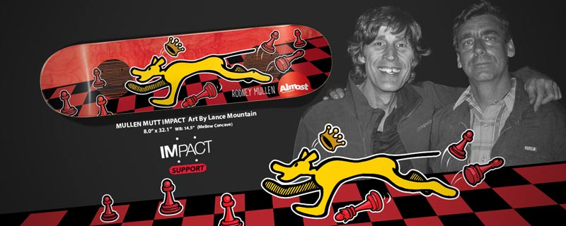 Almost Skateboards 2014 To Rodney Love Lance