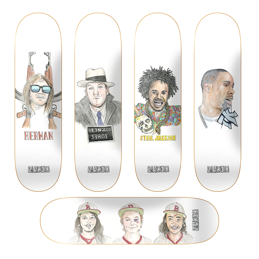 BK MIKE GIGLIOTTI BOARD SET