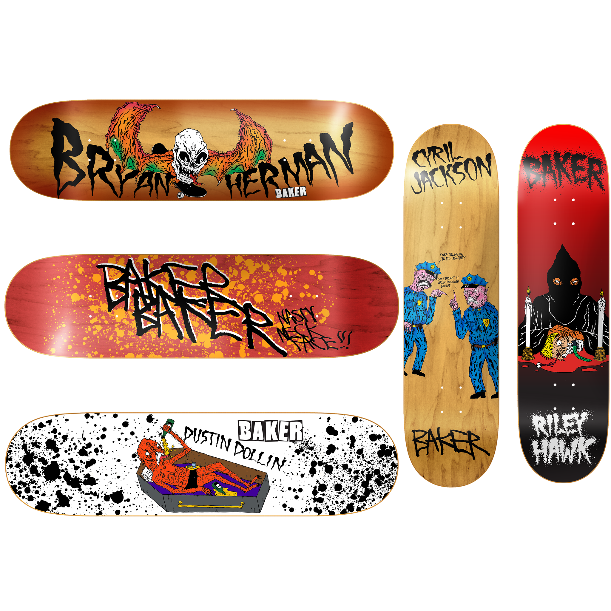 BAKER NASTY NECK FACE BOARD SET