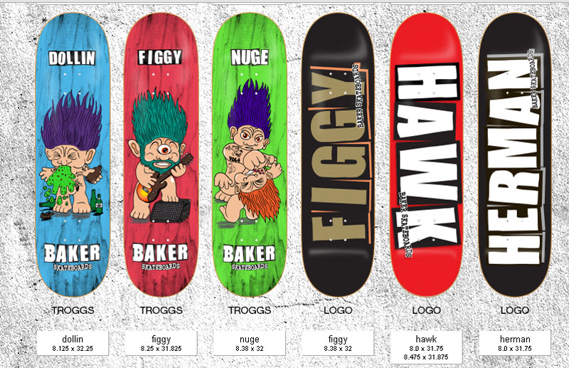Baker Skateboards page 1