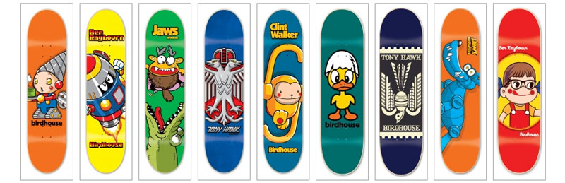 Birdhouse Skateboards 2014 page 1