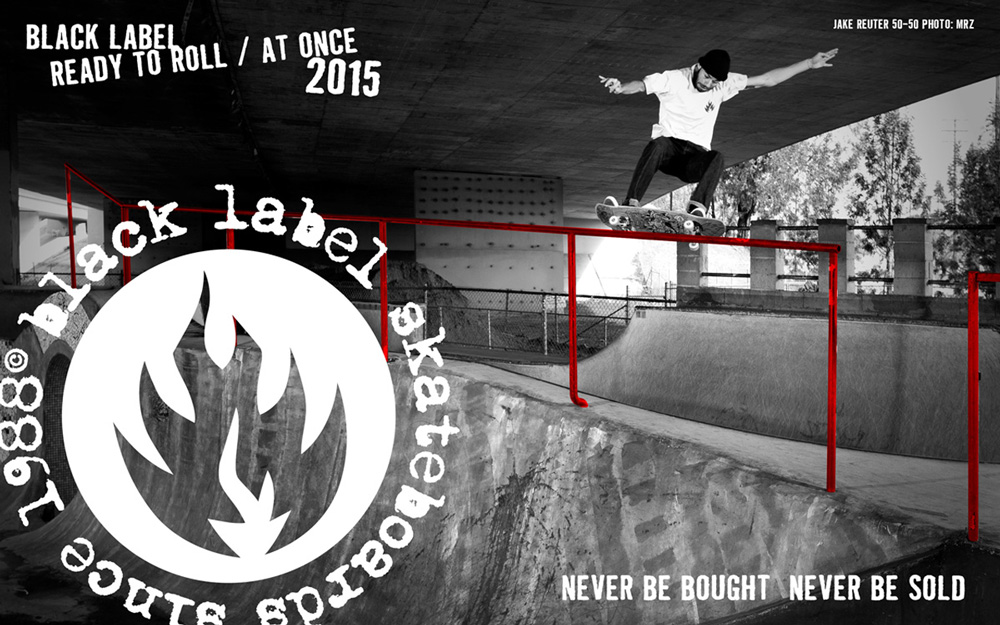 Black Label Skateboards Catalog 2015 Page 1