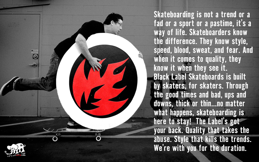 Black Label Skateboards Catalog 2015 Page 2