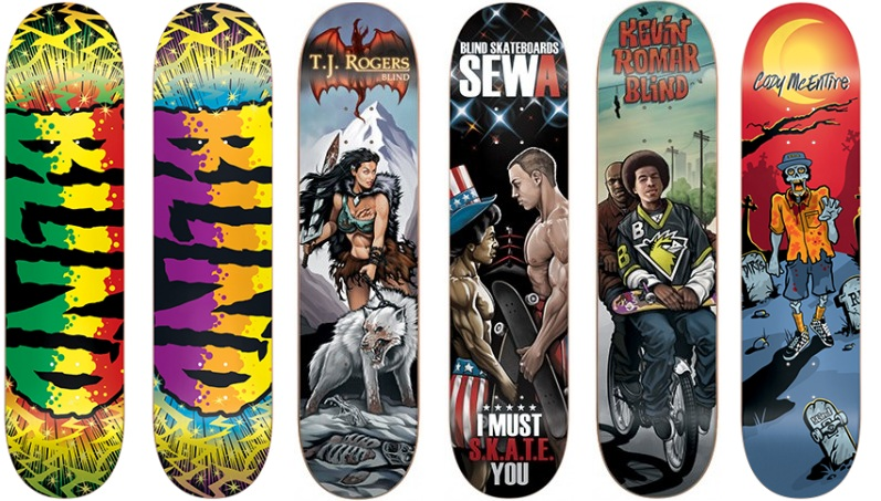 Blind Skateboard Deck 2015