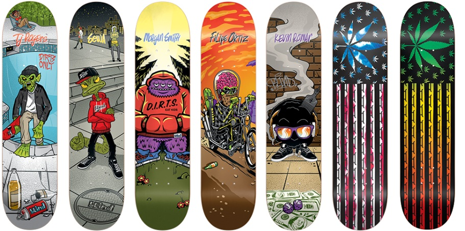 Blind Skateboards 2015