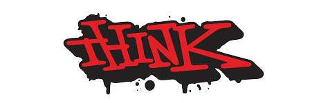 Think Skateboards logo