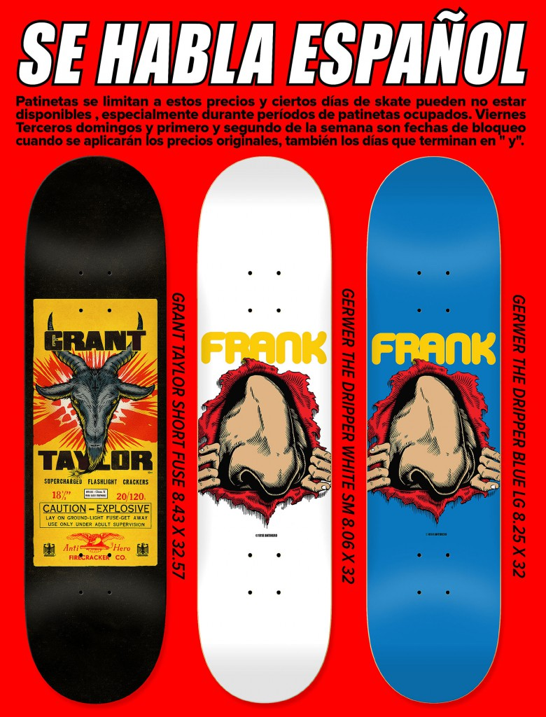anti hero skateboards 2014 frank gerwer and grant taylor