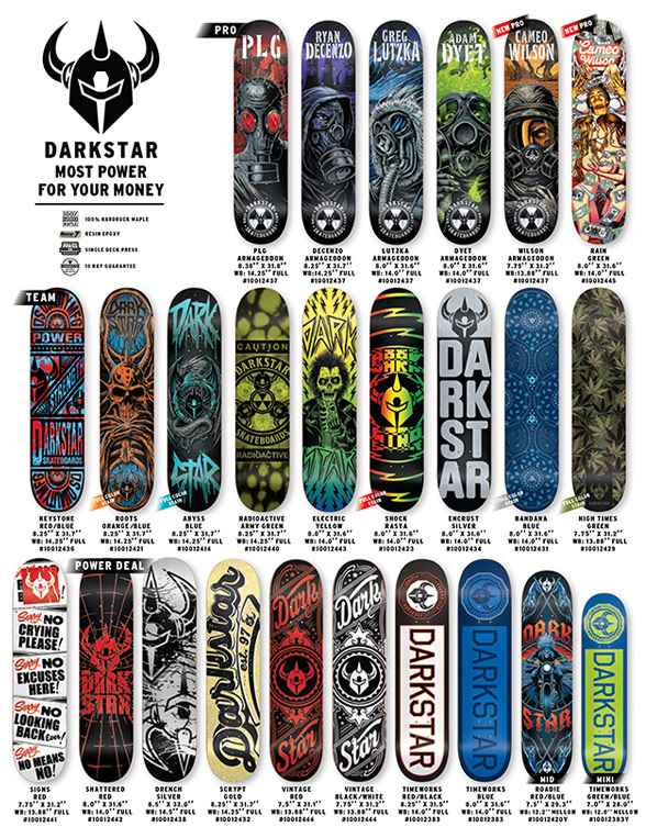 darkstar skateboards 2014