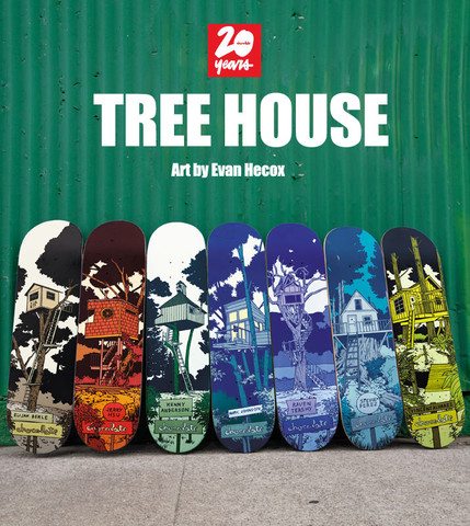 Chocolate tree House Full Series skateboard decks
