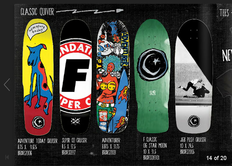 Foundation Skateboards Catalog 2014 page 1