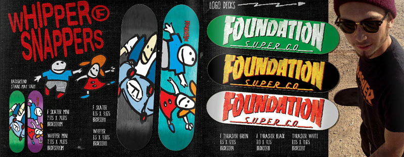 Foundation Skateboards Catalog 2014 page 4