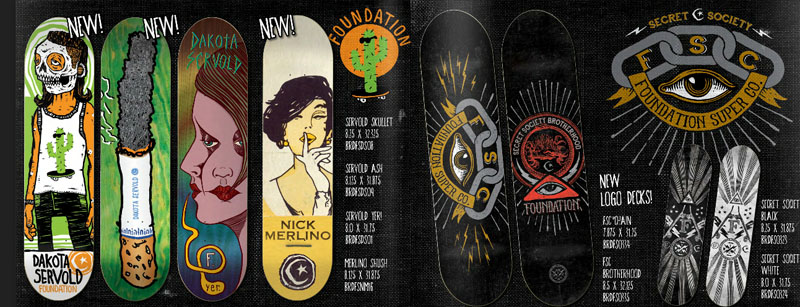 Foundation Skateboards Catalog 2014 page 5