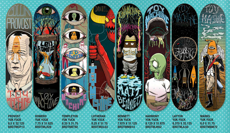 toy machine skateboards 2014 page 3