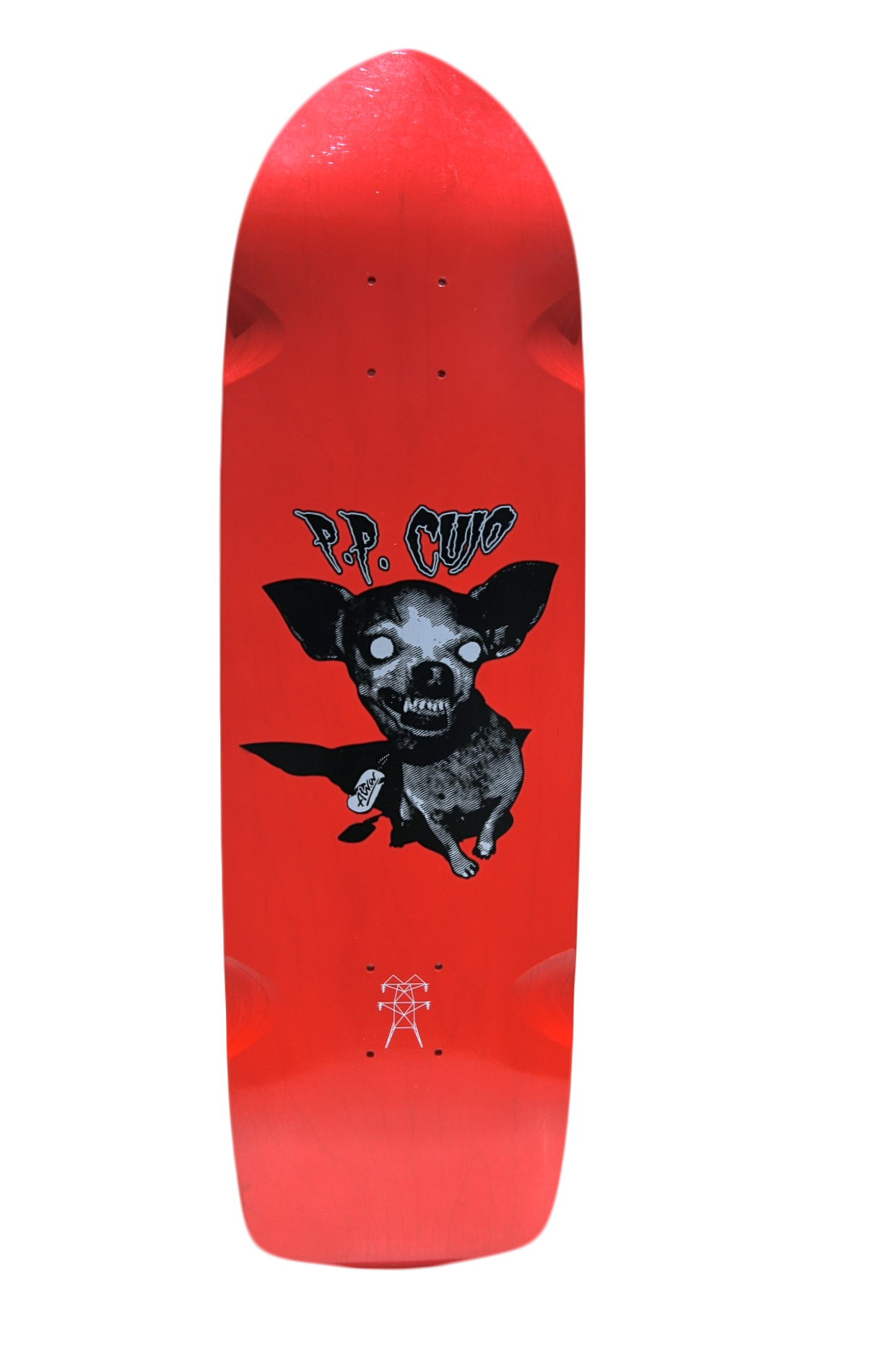 Alva Cujo Red Btm Skateboard Deck