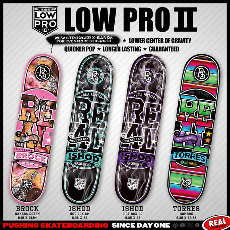 Real Skateboards 2014 low-pro 2