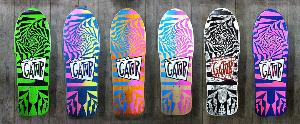 vision gator skateboards