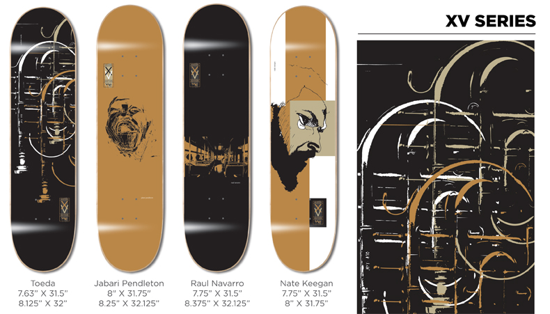 Western Edition Skateboards Decks 2014 page 1