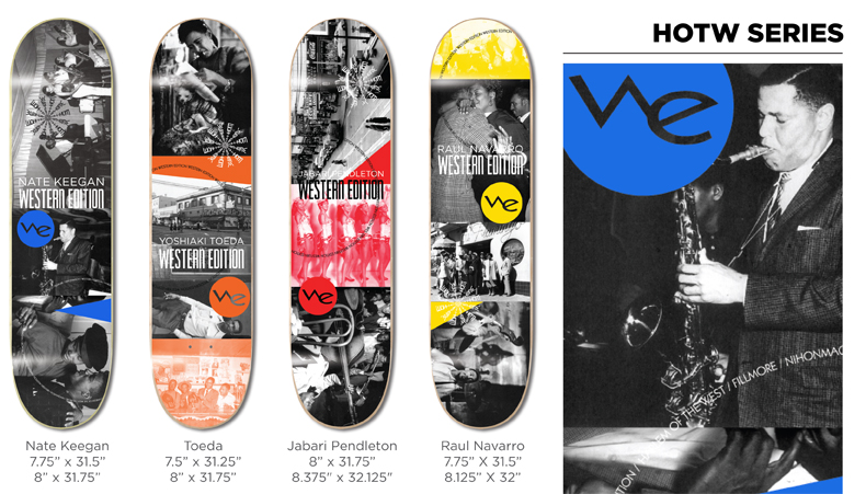 Western Edition Skateboards Decks 2014 page 2