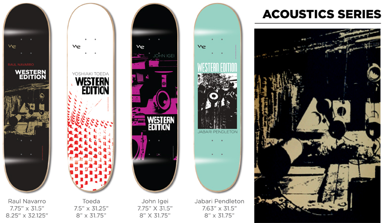 Western Edition Skateboards Decks 2014 page 4