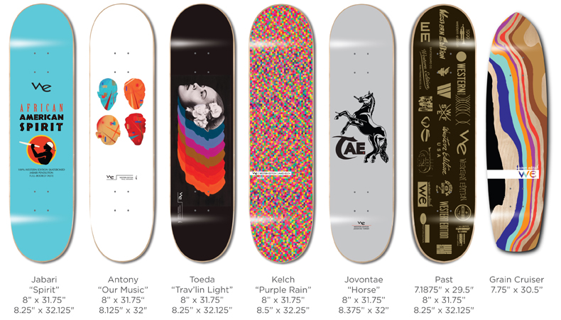 Western Edition Skateboards Decks 2014 page 5