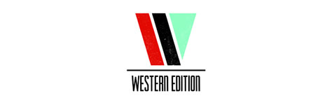 western edition skateboards logo