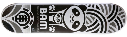 Element Skateboards Bam Margera Bears Deck