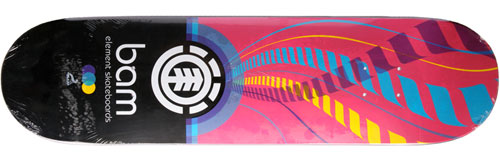 Element Skateboards Bam Margera Remix Deck