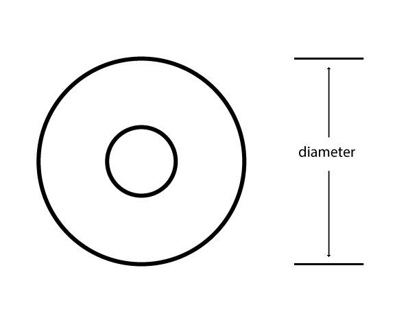 skateboard wheel diameter schematic