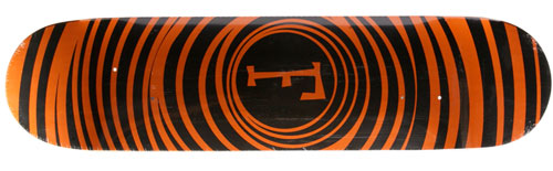 Foundation Skateboards Spiral Vertigo Orange
