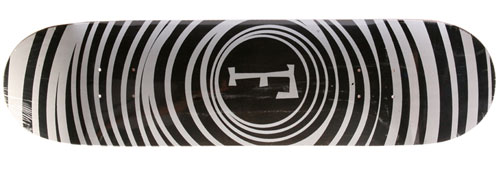 Foundation Skateboards Spiral Vertigo White Deck