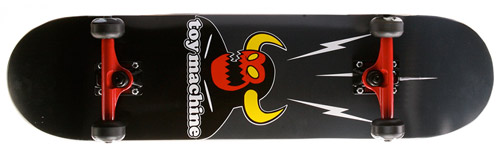 toy machine monster complete skateboard