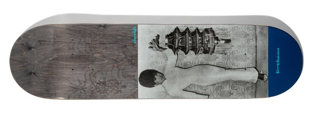 Chocolate Anderson Mother One Off Deck 8 8.125inches Skateboard deck
