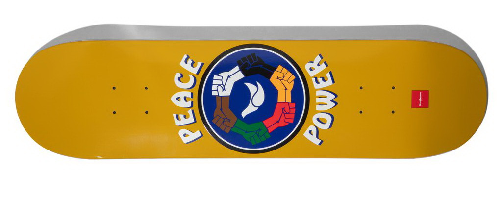 Chocolate Anderson Peace Power DeckAnderson Peace Power Deck 8inches Skateboard deck