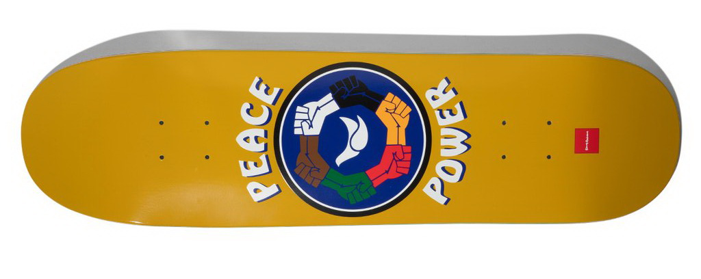 Chocolate Anderson Peace Power Skidul Deck 8.5inches Skateboard deck