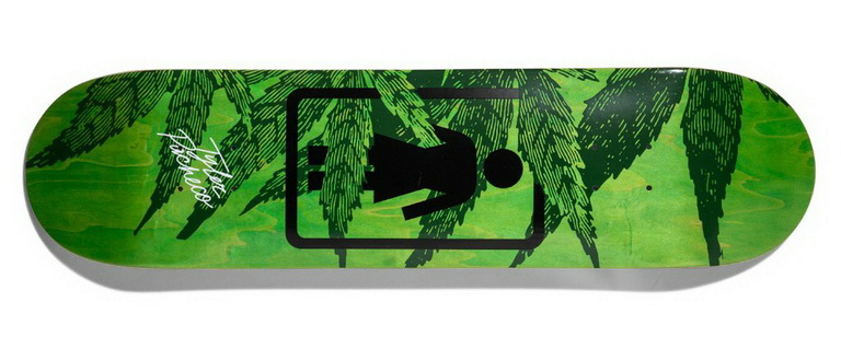 girl pacheco smoke session deck 7.75inches skateboard deck 1